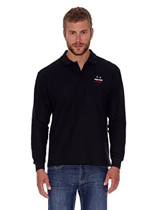 Polo Club Polo Regular Fit Liso (Negro)