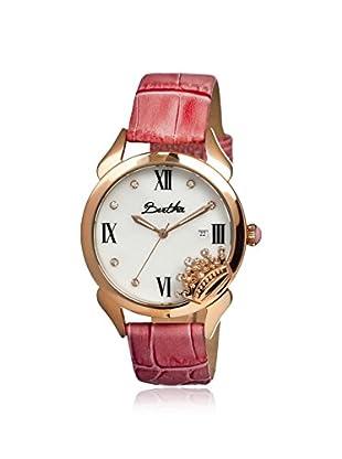 Bertha Women's BR2404 Queen Light Pink/White Leather Watch
