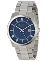 Kenneth Cole Analog Blue Dial Men's Watch - IKC9212