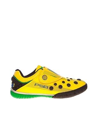 Sneaker Klettverschluss (Gelb)