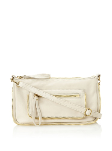 Linea Pelle Women's Dylan Amazing Zip Top Cross-Body (Sand)