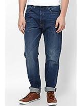 Indigo Slim Fit Jeans (501 Ct) Levi's