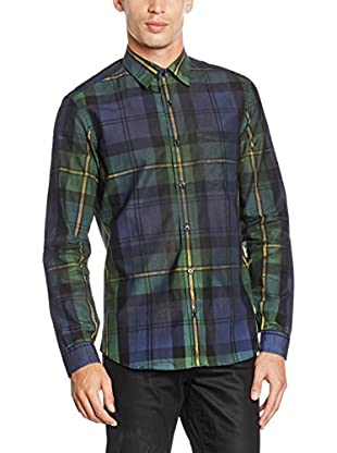Goodwood by Belstaff Camisa Hombre Grid