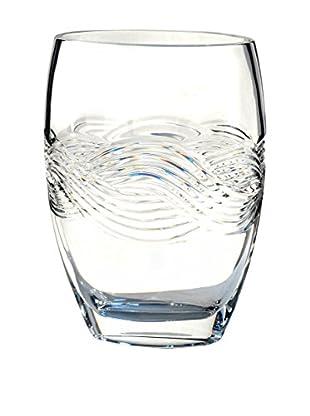 Dale Tiffany Crystal Braid Decorative Vase, Clear