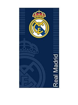 Art Experience Toalla de Playa Escudo Real Madrid Azul 100 x 170