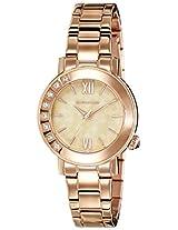 Giordano Analog Gold Dial Women's Watch - 2753-33
