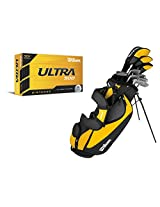 WILSON ULTRA Mens Right Handed Complete Pkge Golf Club Set w/ Bag + 12 Balls
