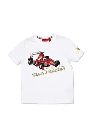 Ferrari Camiseta No. 1 (Blanco)