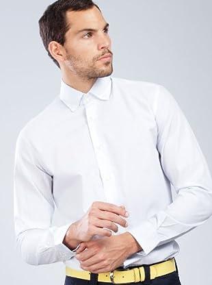 Armand Basi Camisa Carlsin (celeste / blanco)