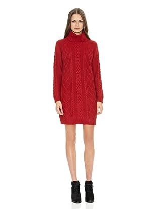 Mango Vestido Know (Rojo)