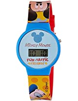 Disney Digital Blue Dial Boy's Watch - DW100468