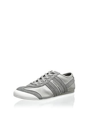 Dolce & Gabbana Men's Side Stripe Sneaker (Grey)
