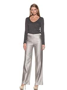 Loro Piana Women's Urano Elegance Pant (White/Black)