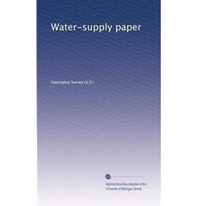 【クリックでお店のこの商品のページへ】Water-supply paper (Vol.108) [ペーパーバック]