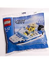 Lego City Minifigure Set - Police Boat Bagged