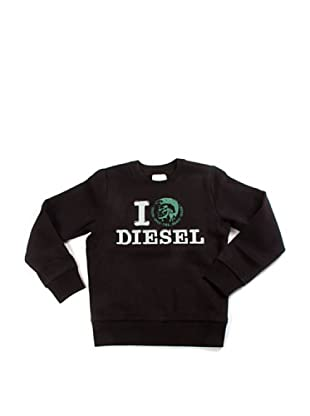 Diesel Junior Sweatshirt (Schwarz)