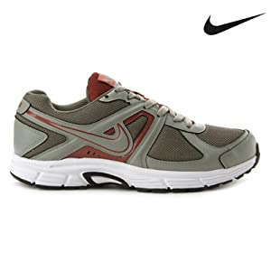 Nike Men's Sports Shoes 540554-006 (Grey & Red)