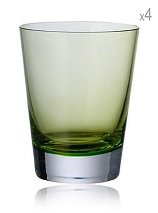 Villeroy & Boch Set 4 Vasos Colour Concept (Verde)
