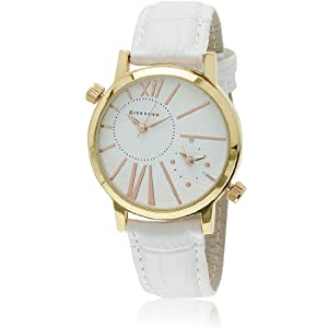 Dtll60057 White/Rose Gold Analog Watch