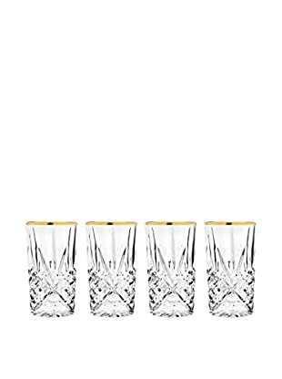 Godinger Set of Four Dublin Highball Glasses