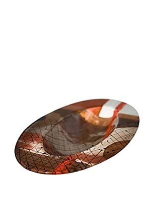 Urban Flow Oval Abstract Bowl