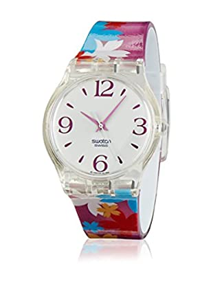 Swatch Reloj de cuarzo Floating Flowers SUJK130  34 mm
