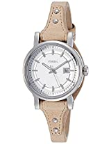 Fossil End-of-season Obf Small Analog Silver Dial Women's Watch - ES3908I