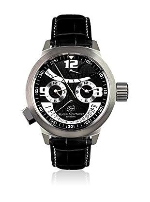 Mathis Montabon Reloj automático Réserve De Marche Negro