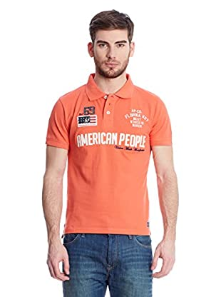 American People Poloshirt Pegaz