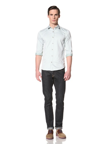 Ted Baker Men's Revora Button-Up Shirt (Green)