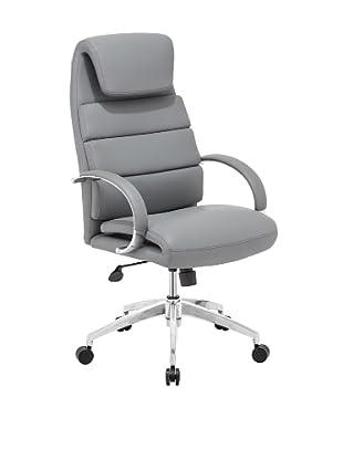 Zuo Lider Comfort Office Chair, Gray
