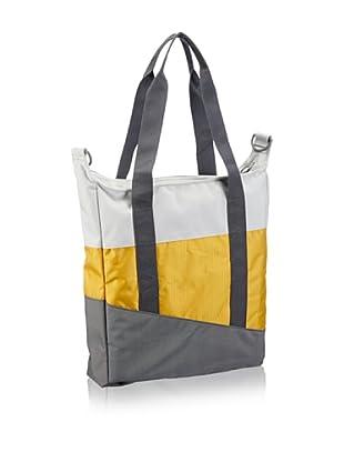 KangaROOS Schultertasche (grau/gelb/beige)