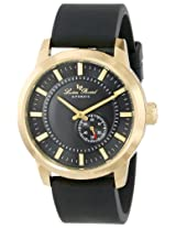 Lucien Piccard Men's LP-12550-YG-01-BK 90th Anniversary Analog Display Japanese Automatic Black Watch