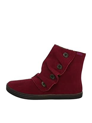 Blowfish Rabito Bootie leather BF2486-L AU12, Stivaletti donna (Rosso (Rot (wine cow suede BF236)))