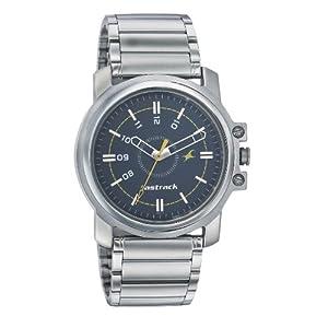 Fastrack NE3039SM02 Men's Watch-Silver