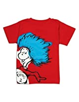 Bumkins Dr. Seuss Short Sleeve Toddler Tee, Red Thing 2, 5 T By Bumkins