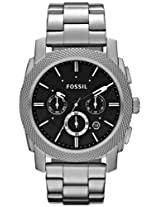 Fossil Machine Analog Black Dial Men's Watch - FS4776