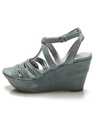 Apepazza Keil-Sandalette (Blau)