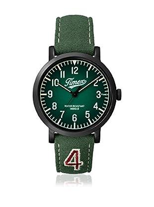 TIMEX Reloj de cuarzo Unisex Unisex Originals Verde 42 mm