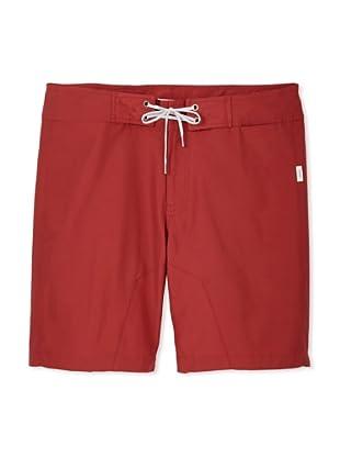 Onia Men's Amaury Board Short (Red)