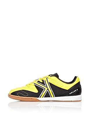 Kelme Zapatillas Europa Indoor (Amarillo / Negro)