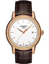 Tissot White Dial Analogue Watch for Men (T0854103601100)