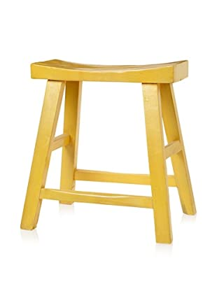 Royola Pacific Curve Up Stool (Daffodil Yellow)