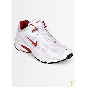 Nike Men 2.04 In 314852104 White & Red Sports Shoes