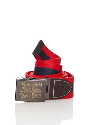 Springfield Cinturón Chapa (Rojo)