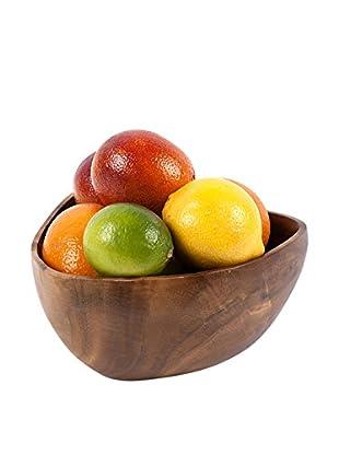 Core Acacia Large Triangle Bowl