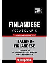 Vocabolario Italiano-Finlandese per studio autodidattico - 9000 parole (Italian Edition)