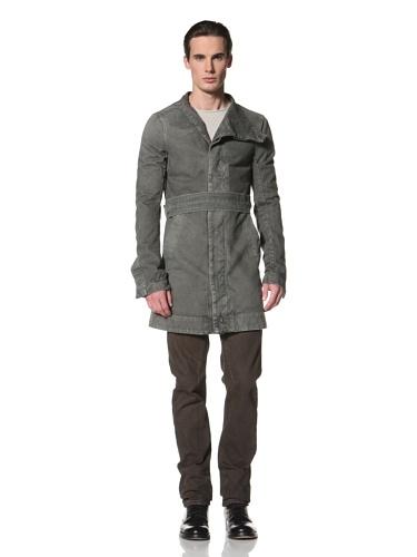 Rick Owens DRKSHDW Men's Safari Pea Coat (Dark Dust)