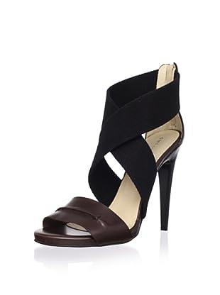 C'N'C CoSTUME NATIONAL Women's Crisscross Stiletto Sandal (Tmoro/Black)