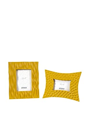 Set of 2 Essentials Frames, Yellow
